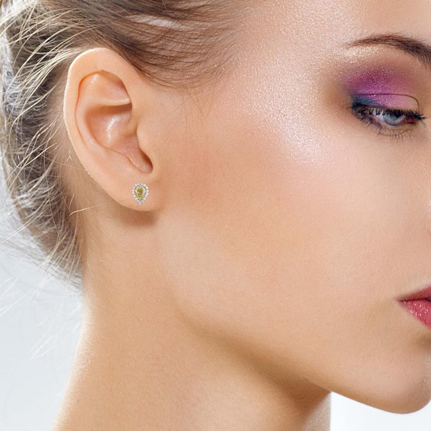 Classic Diamond EarringsStyle #: PD-LQ8348E