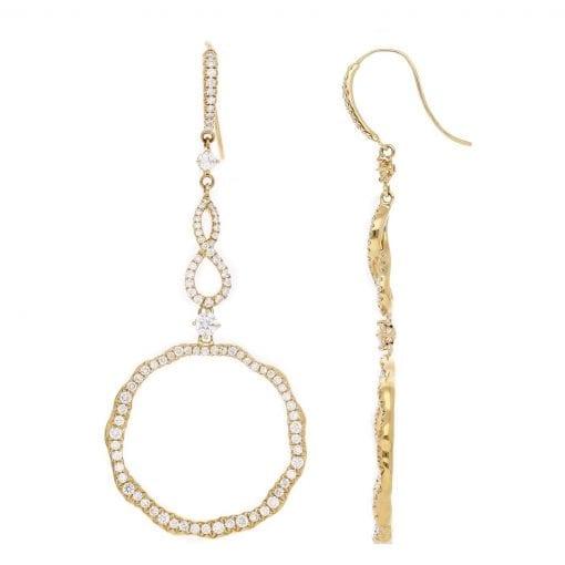 Classic Diamond Earrings<br>Style #: PD-LQ8360E