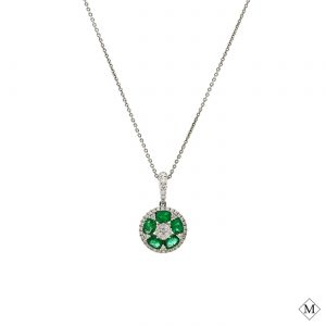 Classic Emerald PendantStyle #: PD-LQ8419P