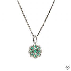 Classic Emerald PendantStyle #: PD-LQ8544P