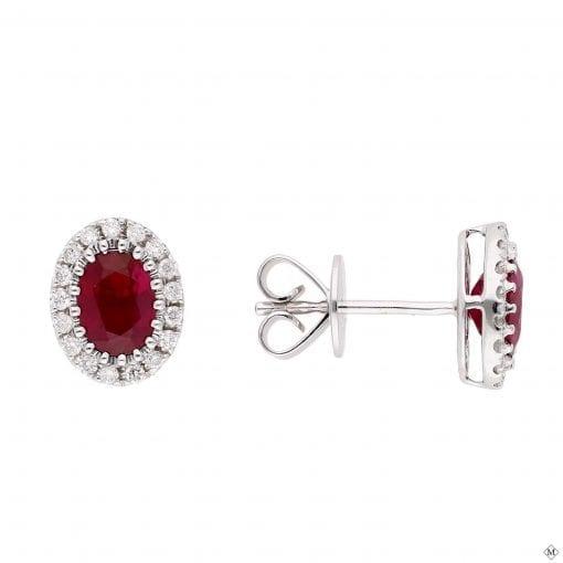 Classic Gemstone Earrings<br>Style #: PD-LQ8584E