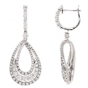 Classic Diamond EarringsStyle #: PD-LQ8592E