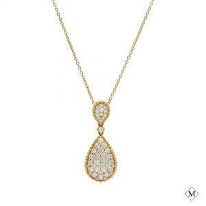 Modern Diamond PendantStyle #: PD-LQ8661P