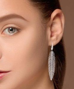 Unique Diamond EarringsStyle #: PD-LQ8754E