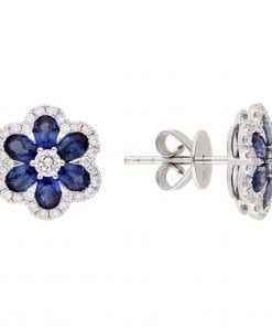 Floral Gemstone EarringsStyle #: PD-LQ9168E