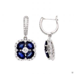 Unique Sapphire EarringsStyle #: PD-LQ9199E