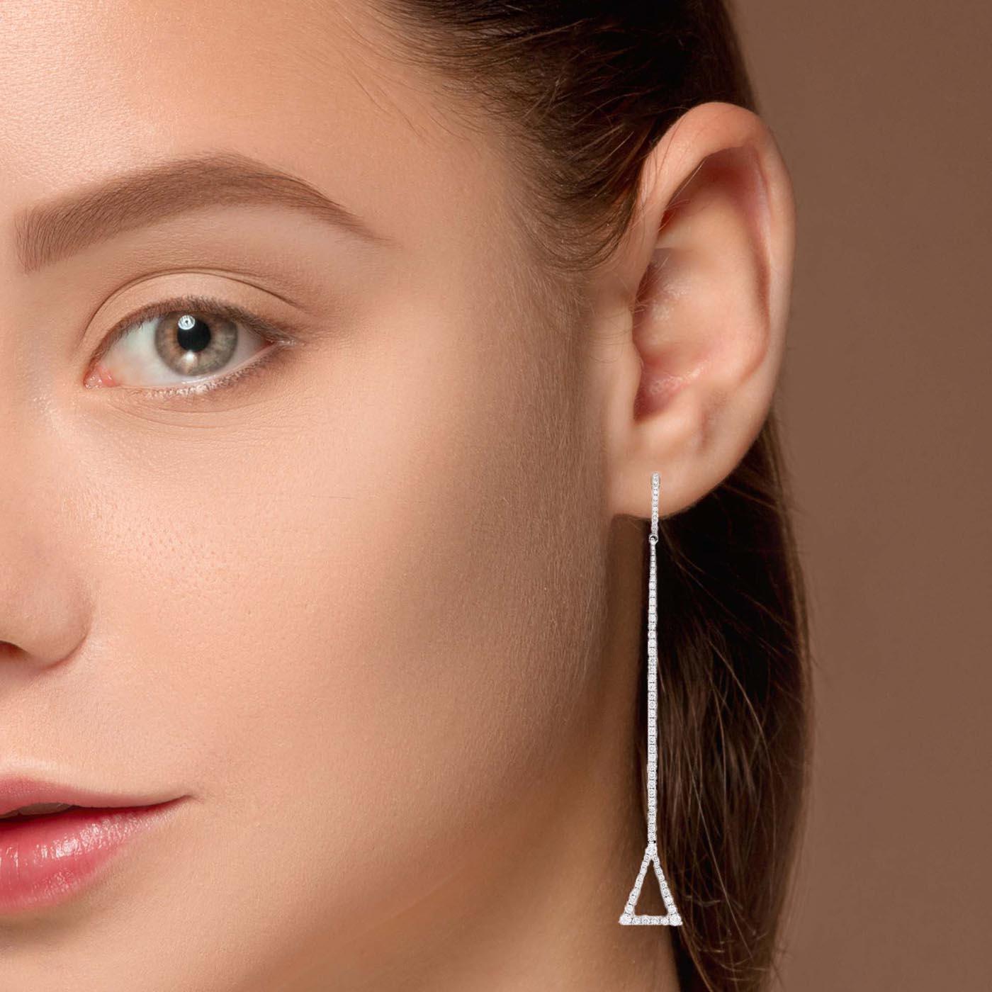 Unique Diamond EarringsStyle #: PD-LQ9374E