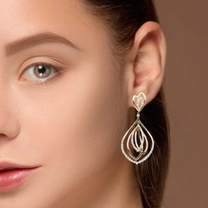 Vintage Diamond EarringsStyle #: PD-LQ9410E