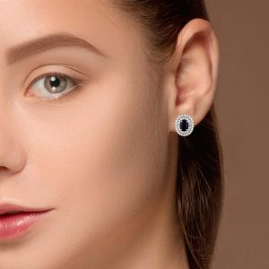 Classic Gemstone EarringsStyle #: PD-LQ9478E