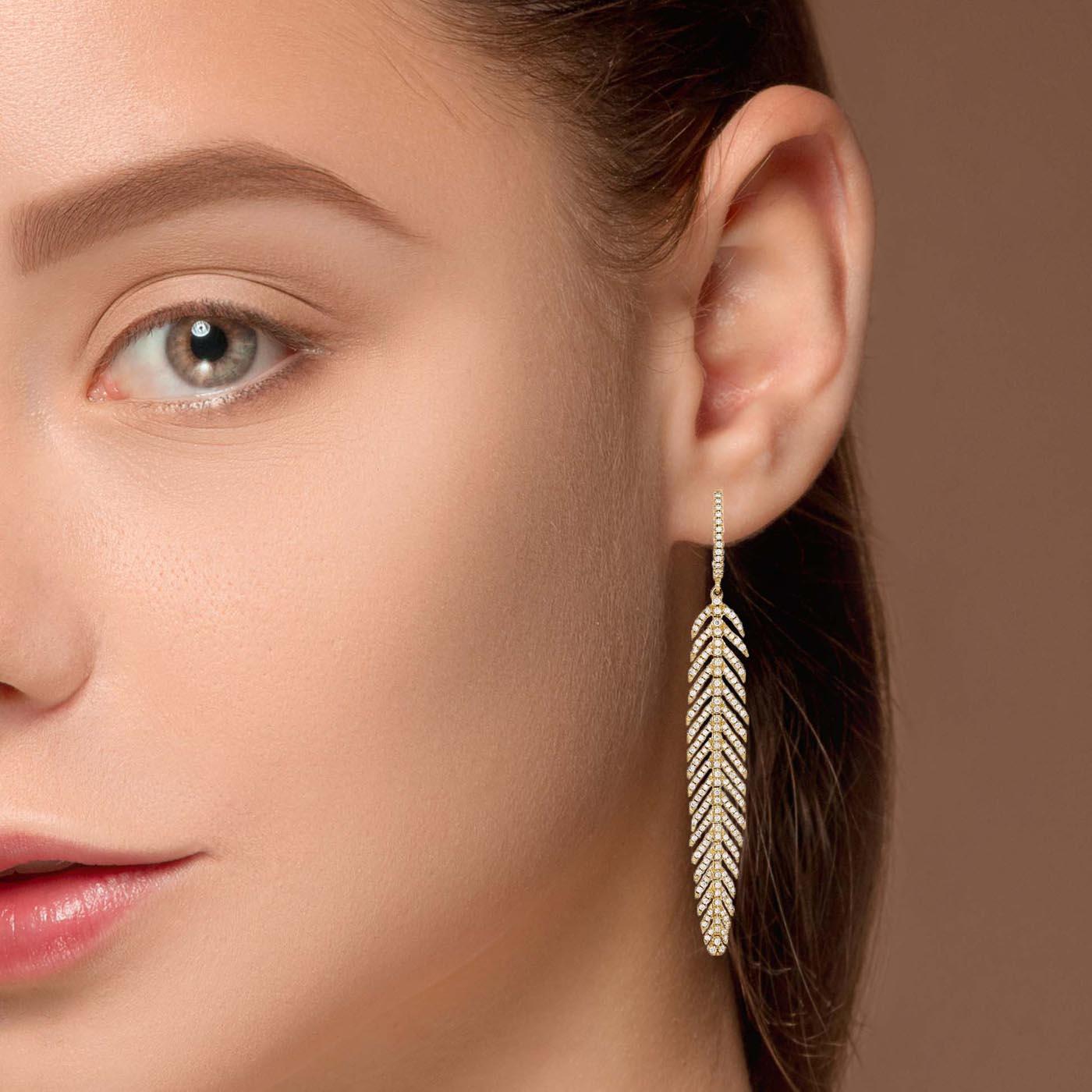 Unique Diamond EarringsStyle #: PD-LQ9484E