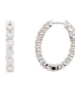 Classic Diamond EarringsStyle #: PD-LQ9537E