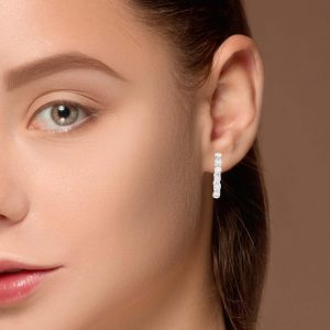 Classic Diamond EarringsStyle #: PD-LQ9537E