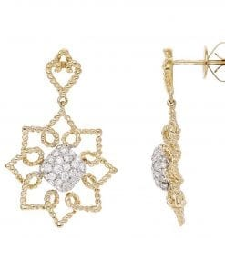 Floral Diamond EarringsStyle #: PD-LQ9569E