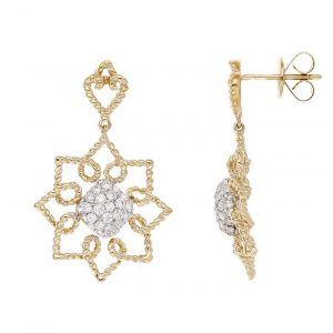 Floral Diamond EarringsStyle #: PD-LQ9569E
