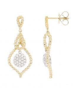 Unique Diamond EarringsStyle #: PD-LQ9570E
