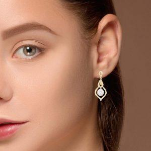 Unique Diamond EarringsStyle #: PD-LQ9570E