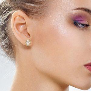 Classic Diamond EarringsStyle #: PD-LQ9585E