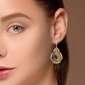 Unique Sapphire EarringsStyle #: PD-S320E