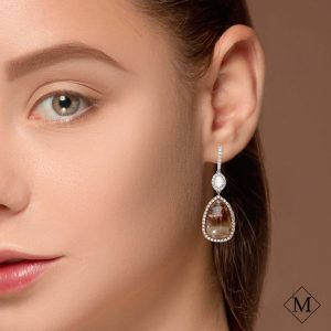 Unique Fancy Diamond EarringsStyle #: PD-S412E