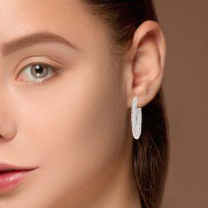 Modern Diamond EarringsStyle #: UDE-06841