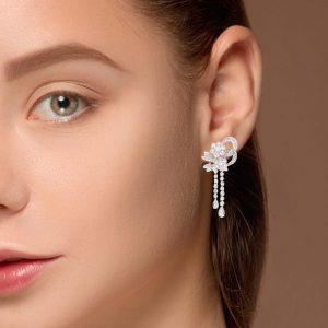 Classic Diamond EarringsStyle #: UDE-07210