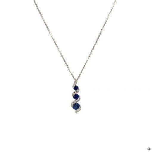 Unique Sapphire PendantStyle #: AN-EJ1547