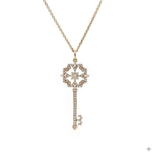 Unique Diamond Pendant<br>Style #: AN-HKK547