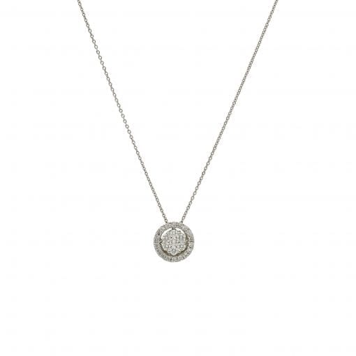 Classic Diamond Pendant<br>Style #: AN-I2050