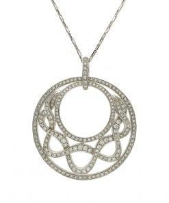 Modern Diamond PendantStyle #: AN-MY4050