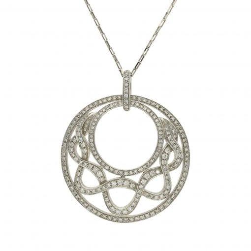 Modern Diamond Pendant<br>Style #: AN-MY4050