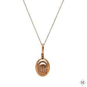 Modern Brown Diamond PendantStyle #: AN-PP249