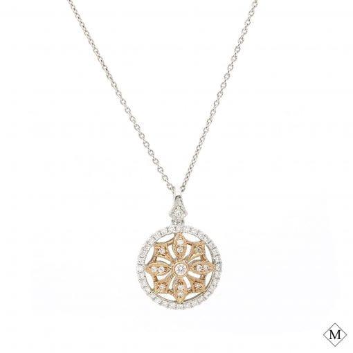 Modern Diamond Pendant<br>Style #: MARS-23651