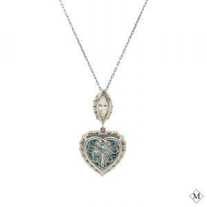 Classic Blue Diamond PendantStyle #: MDPND9993
