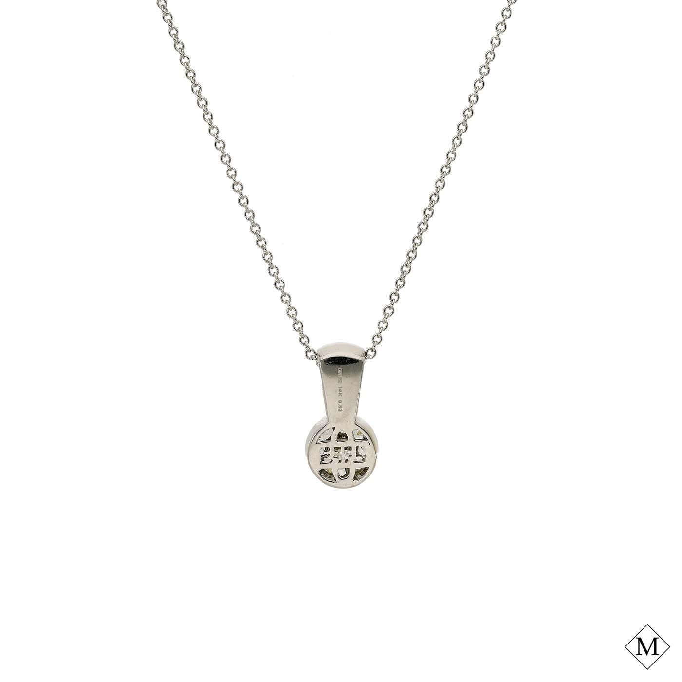 Classic Diamond PendantStyle #: MDPND9996