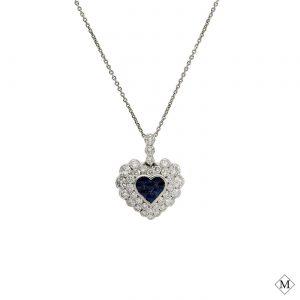 Unique Sapphire PendantStyle #: PD-513P