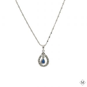 Classic Sapphire PendantStyle #: PD-LQ4949P
