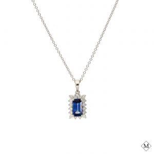 Modern Sapphire PendantStyle #: PD-LQ5177P
