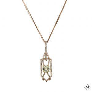 Modern Yellow Diamond PendantStyle #: PD-LQ6546P