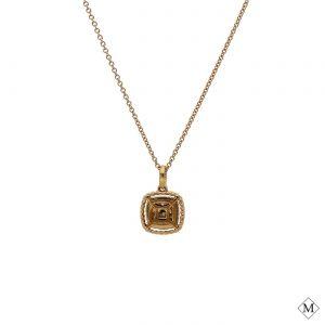 Modern Brown Diamond PendantStyle #: PD-LQ7633P
