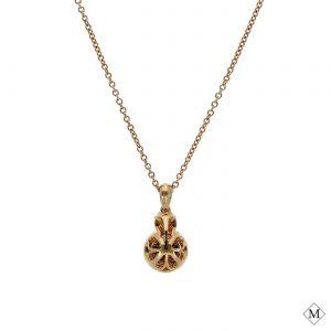 Classic  Brown Diamond PendantStyle #: PD-LQ7635P