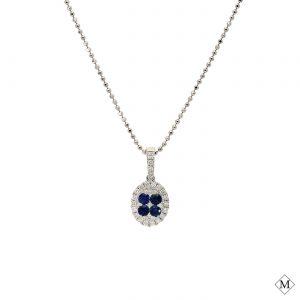 Modern Sapphire PendantStyle #: PD-LQ8161P