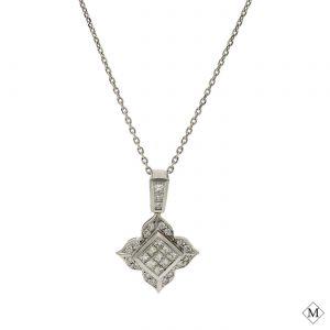 Classic Diamond PendantStyle #: PD-LQ842P