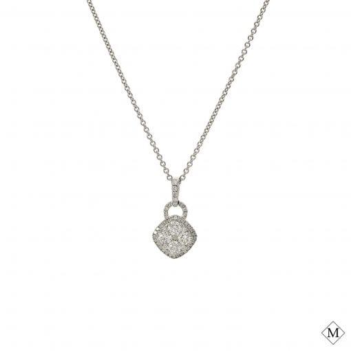 Modern Diamond Pendant<br>Style #: PD-LQ8532P