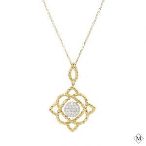 Modern Diamond PendantStyle #: PD-LQ8699P