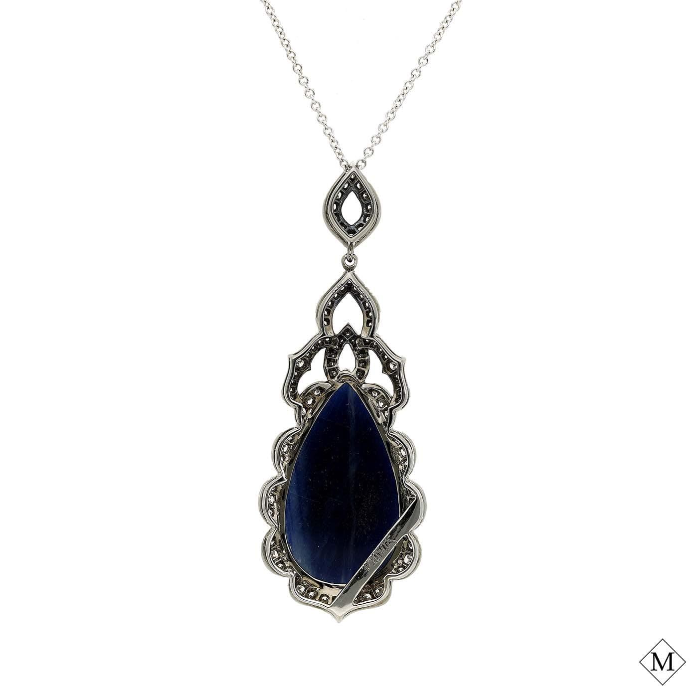 Unique Sapphire PendantStyle #: PD-S232P