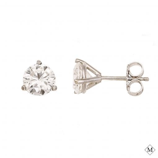Classic Diamond EarringsStyle #: MHSTUD00001