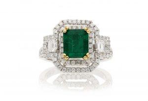 Vintage Emerald  RingStyle #: PD-LQ10440L