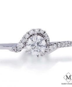 Pave Diamond Engagement RingsStyle #: CB2003E