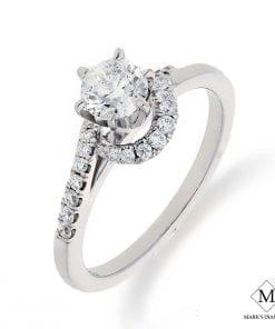 Pave Diamond Engagement RingsStyle #: CB2003E