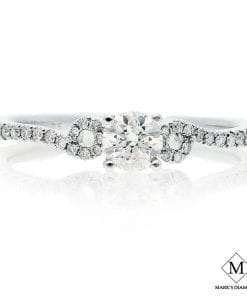 Pave Diamond Engagement RingsStyle #: CB25388
